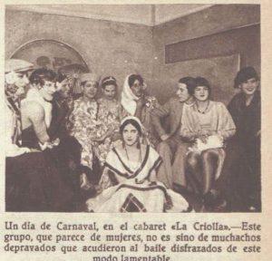 Les Carolines a La Criolla